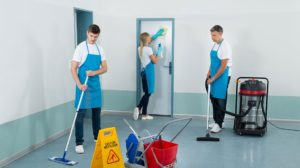 cleaning companies are the solution